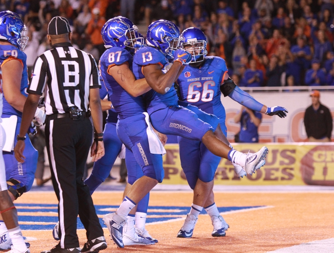 Boise State Broncos at New Mexico Lobos - 10/7/16 College Football Pick, Odds, and Prediction