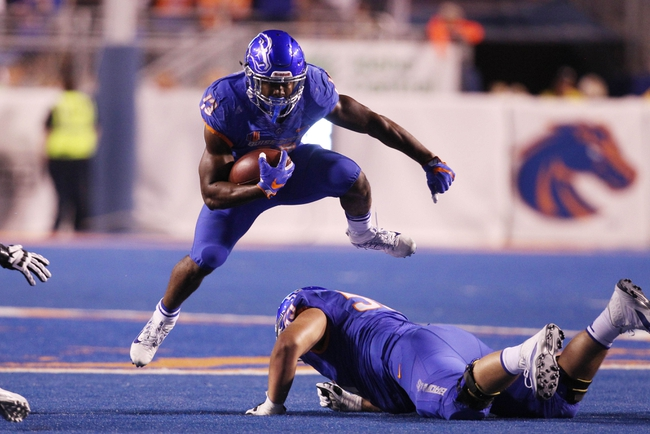 Utah State Aggies at Boise State Broncos - 10/1/16 College Football Pick, Odds, and Prediction