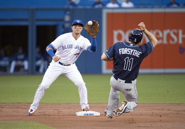 Toronto Blue Jays vs. Tampa Bay Rays - 9/13/16 MLB Pick, Odds, and Prediction