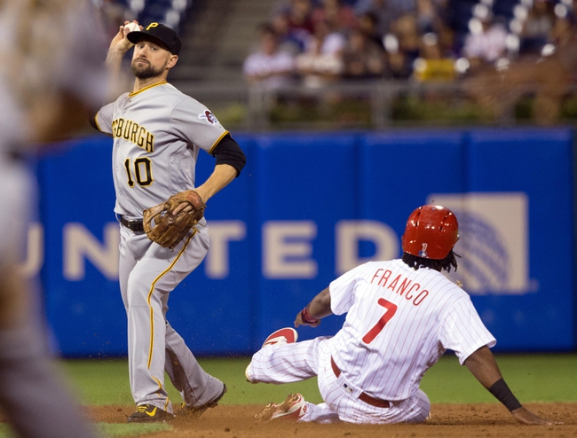 Philadelphia Phillies vs. Pittsburgh Pirates - 9/14/16 MLB Pick, Odds, and Prediction