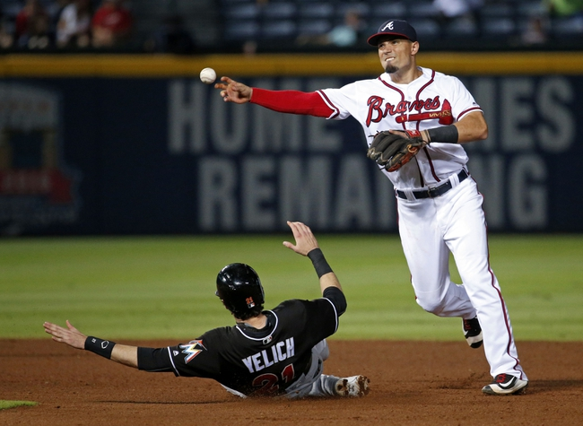Atlanta Braves vs. Miami Marlins - 9/14/16 MLB Pick, Odds, and Prediction
