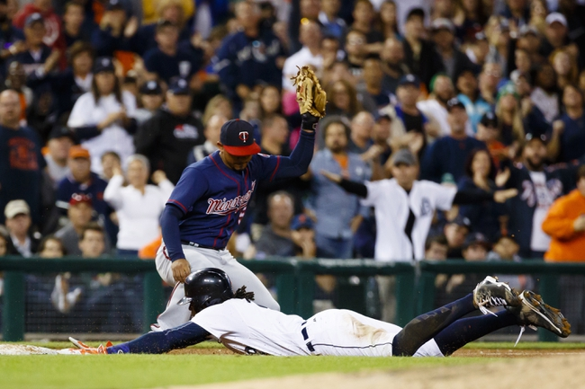 Detroit Tigers vs. Minnesota Twins - 9/15/16 MLB Pick, Odds, and Prediction