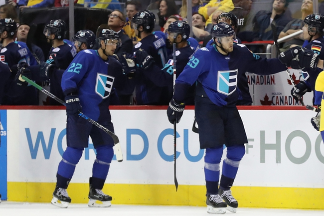 Europe vs Czech Republic: World Cup of Hockey - 9/19/16 Pick, Odds, and Prediction