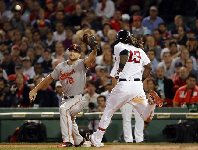 Baltimore Orioles vs. Boston Red Sox - 9/20/16 MLB Pick, Odds, and Prediction