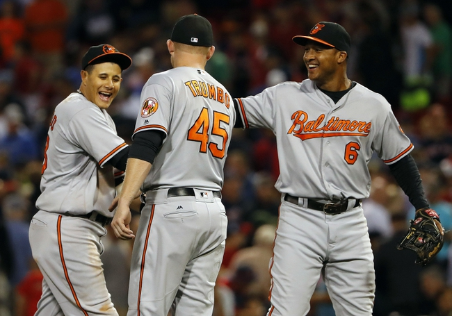 Baltimore Orioles vs. Boston Red Sox - 9/19/16 MLB Pick, Odds, and Prediction