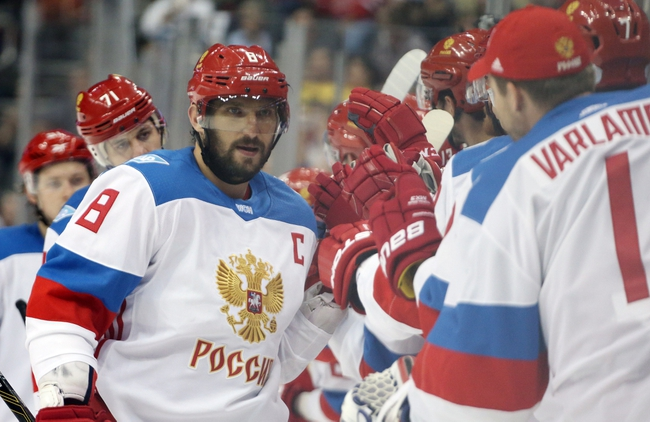Russia vs Sweden: World Cup of Hockey - 9/18/16 Pick, Odds, and Prediction