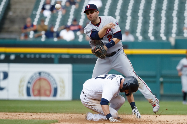 Dozier, Twins fall 8-1 to Tigers