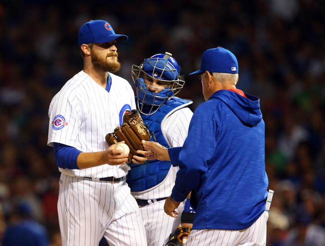 Chicago Cubs vs. Milwaukee Brewers - 9/16/16 MLB Pick, Odds, and Prediction