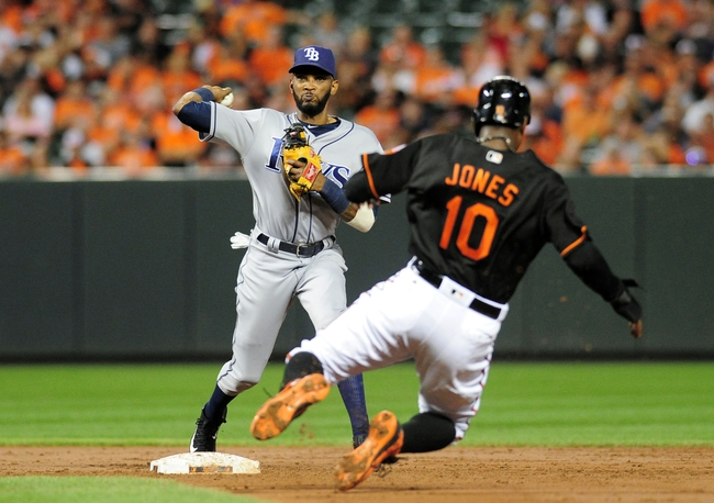 Baltimore Orioles vs. Tampa Bay Rays - 9/17/16 MLB Pick, Odds, and Prediction