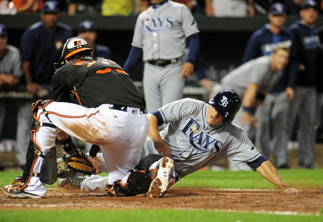 Baltimore Orioles vs. Tampa Bay Rays - 9/18/16 MLB Pick, Odds, and Prediction
