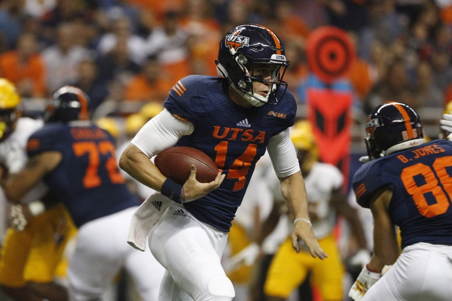 UTSA Roadrunners vs. North Texas Mean Green - 10/29/16 College Football Pick, Odds, and Prediction