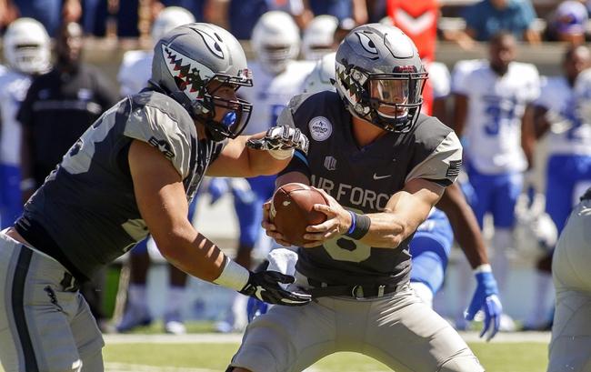 Utah State vs. Air Force - 9/24/16 College Football Pick, Odds, and Prediction