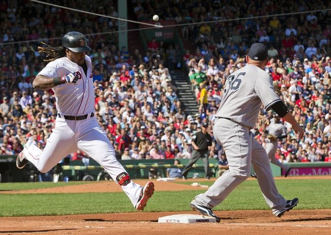 Boston Red Sox vs. New York Yankees - 9/18/16 MLB Pick, Odds, and Prediction