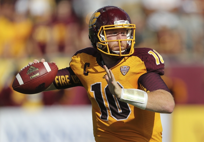 Virginia Cavaliers vs. Central Michigan Chippewas - 9/24/16 College Football Pick, Odds, and Prediction