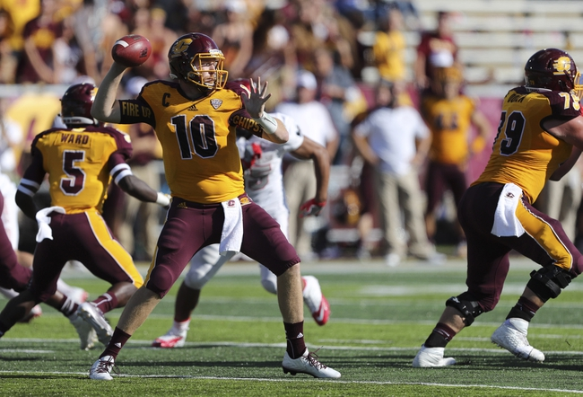 Central Michigan Chippewas vs. Ball State Cardinals - 10/8/16 College Football Pick, Odds, and Prediction
