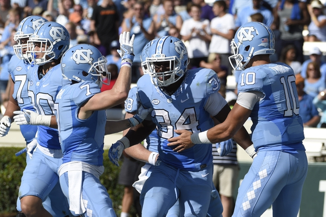 North Carolina Tar Heels vs. Pittsburgh Panthers - 9/24/16 College Football Pick, Odds, and Prediction
