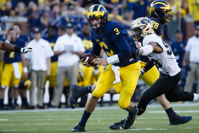 Michigan Wolverines vs. Rutgers Scarlet Knights - 10/8/16 College Football Pick, Odds, and Prediction
