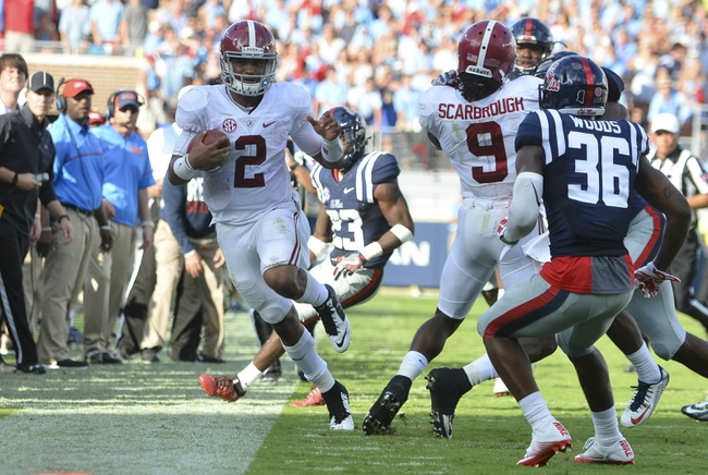 Alabama vs. Kent State - 9/24/16 College Football Pick, Odds, and Prediction