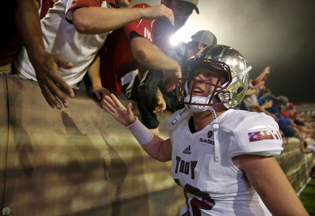 Troy vs. Appalachian State - 11/12/16 College Football Pick, Odds, and Prediction