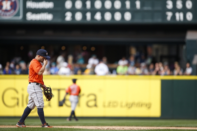 Astros vs. Mariners - 9/26/16 MLB Pick, Odds, and Prediction