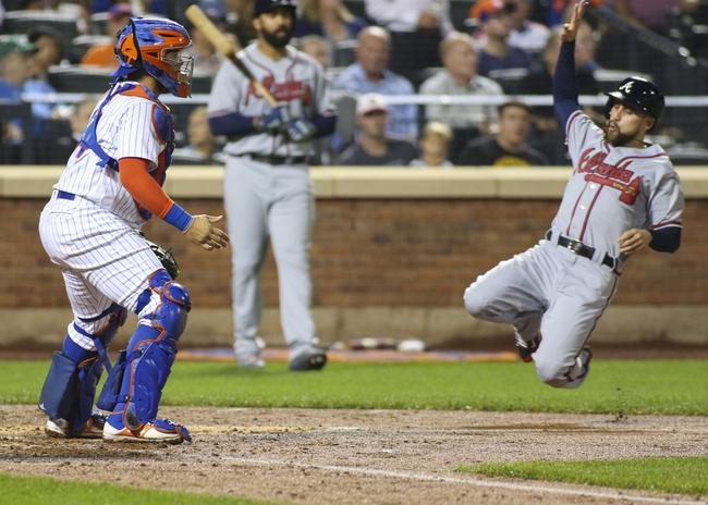 New York Mets vs. Atlanta Braves - 9/20/16 MLB Pick, Odds, and Prediction