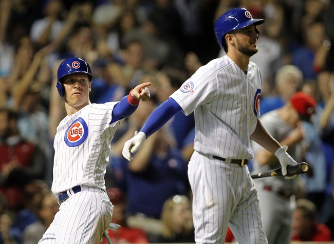 Chicago Cubs vs. Cincinnati Reds - 9/20/16 MLB Pick, Odds, and Prediction