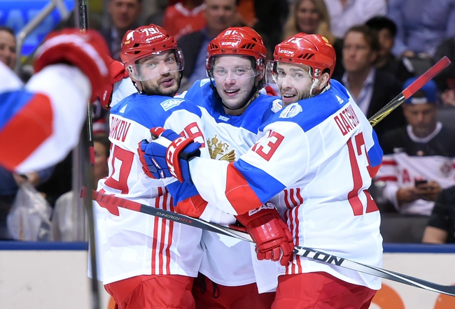 Russia vs Finland: World Cup of Hockey - 9/22/16 Pick, Odds, and Prediction