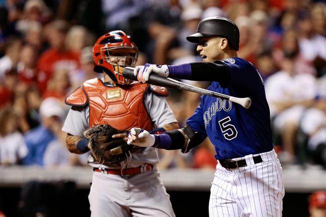 Colorado Rockies vs. St. Louis Cardinals - 9/20/16 MLB Pick, Odds, and Prediction