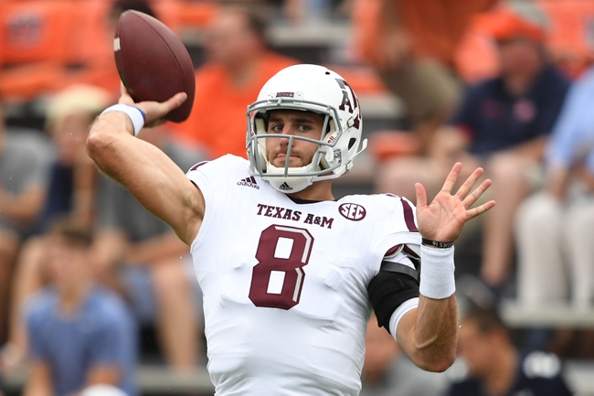 Arkansas vs. Texas A&M - 9/24/16 College Football Pick, Odds, and Prediction