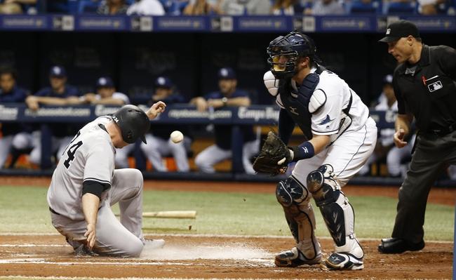 Tampa Bay Rays vs. New York Yankees - 9/22/16 MLB Pick, Odds, and Prediction