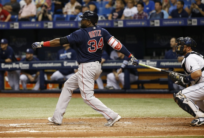 Tampa Bay Rays vs. Boston Red Sox - 9/24/16 MLB Pick, Odds, and Prediction