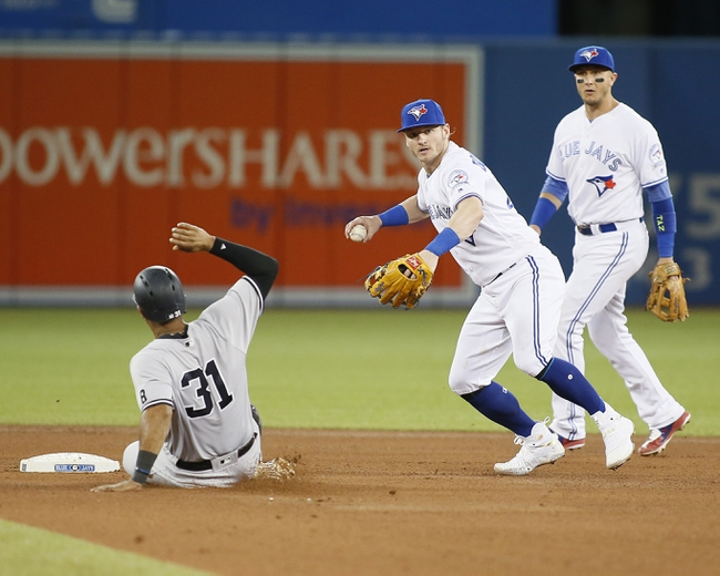 Toronto Blue Jays vs. New York Yankees - 9/24/16 MLB Pick, Odds, and Prediction