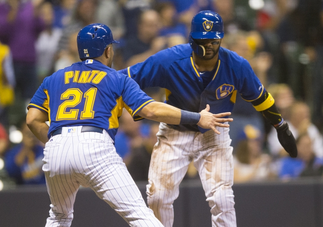 Milwaukee Brewers vs. Cincinnati Reds - 9/25/16 MLB Pick, Odds, and Prediction