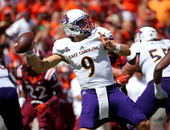 East Carolina vs. UCF - 10/1/16 College Football Pick, Odds, and Prediction