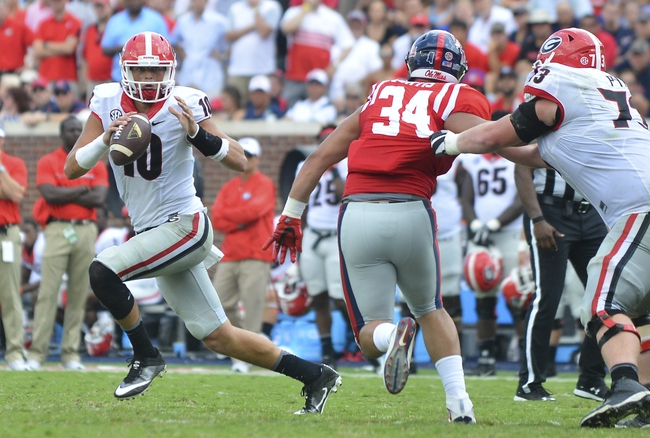 South Carolina vs. Georgia - 10/9/16 College Football Pick, Odds, and Prediction