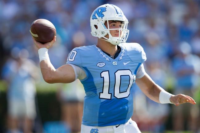 North Carolina Tar Heels vs. Virginia Tech Hokies - 10/8/16 College Football Pick, Odds, and Prediction