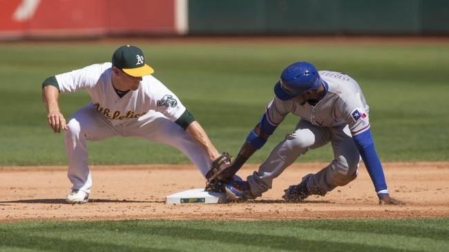 Oakland Athletics vs. Texas Rangers - 9/25/16 MLB Pick, Odds, and Prediction