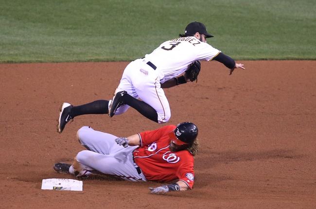 Pirates vs. Nationals - 9/25/16 MLB Pick, Odds, and Prediction