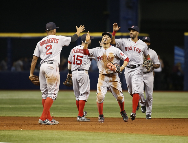 Rays vs. Red Sox - 9/25/16 MLB Pick, Odds, and Prediction