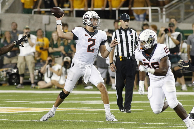 Oklahoma State vs. Texas - 10/1/16 College Football Pick, Odds, and Prediction