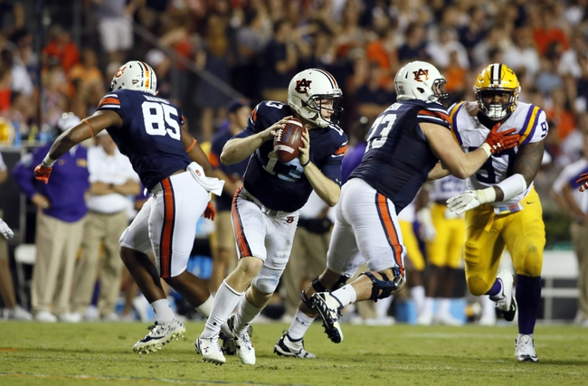 Auburn vs. Louisiana-Monroe - 10/1/16 College Football Pick, Odds, and Prediction