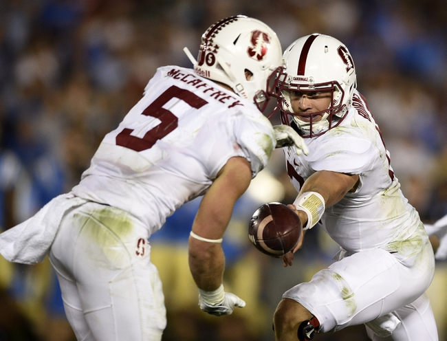 Stanford Cardinal vs. Washington State Cougars - 10/8/16 College Football Pick, Odds, and Prediction