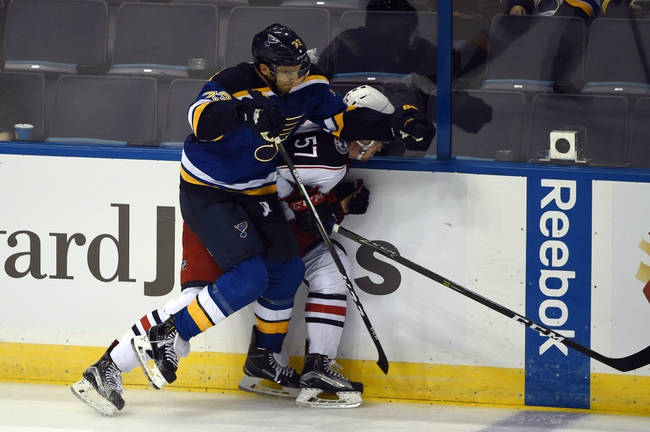 Columbus Blue Jackets vs. St. Louis Blues - 11/12/16 NHL Pick, Odds, and Prediction
