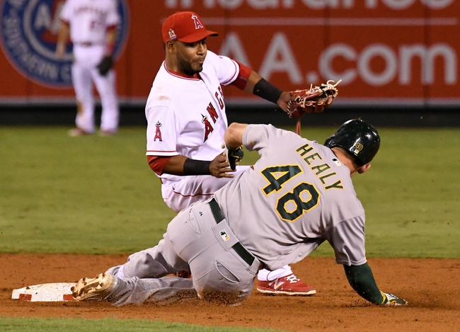 Angels vs. Athletics - 9/27/16 MLB Pick, Odds, and Prediction