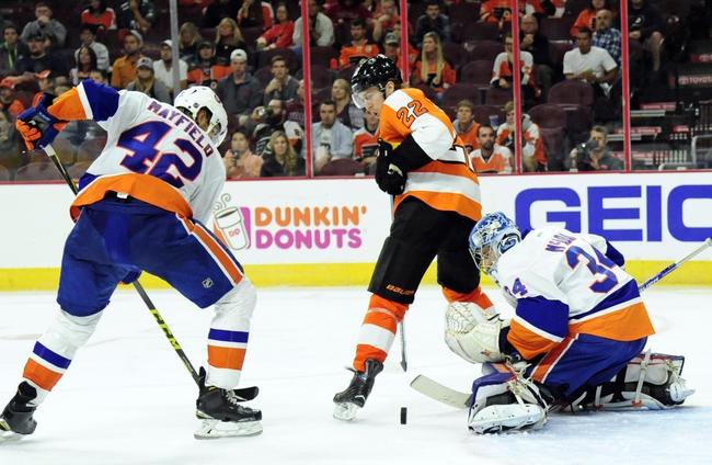 New York Islanders vs. Philadelphia Flyers - 11/3/16 NHL Pick, Odds, and Prediction