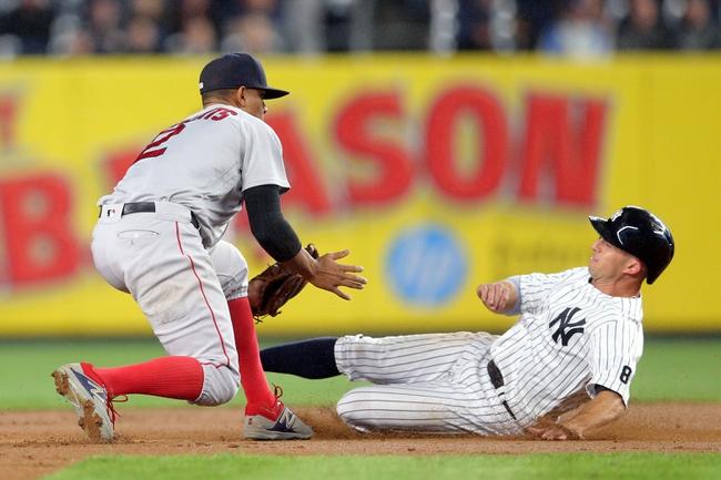 New York Yankees vs. Boston Red Sox - 9/29/16 MLB Pick, Odds, and Prediction