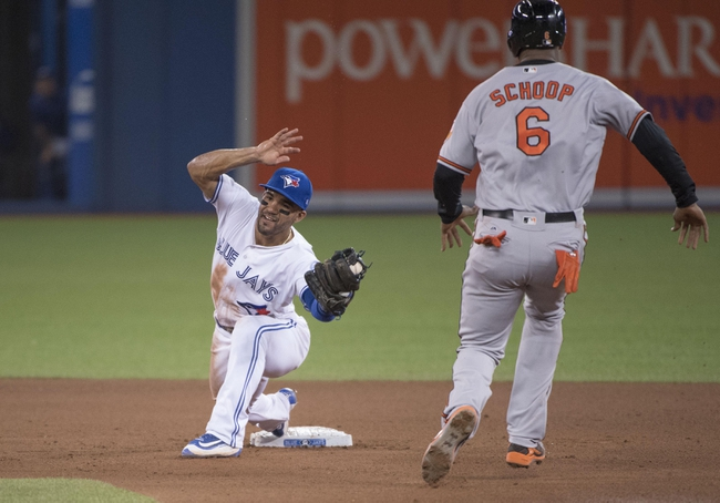 Toronto Blue Jays vs. Baltimore Orioles - 10/4/16 MLB Pick, Odds, and Prediction