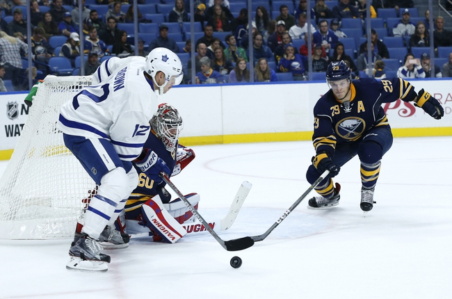 Buffalo Sabres vs. Toronto Maple Leafs - 11/3/16 NHL Pick, Odds, and Prediction