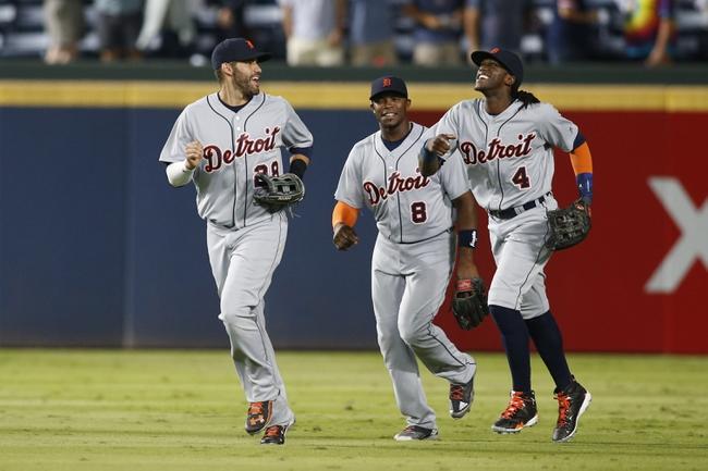 Atlanta Braves vs. Detroit Tigers - 10/2/16 MLB Pick, Odds, and Prediction