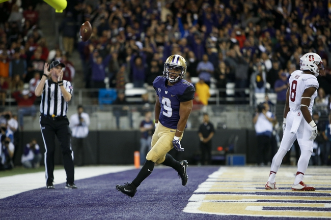 Washington Huskies vs. Oregon State Beavers - 10/22/16 College Football Pick, Odds, and Prediction